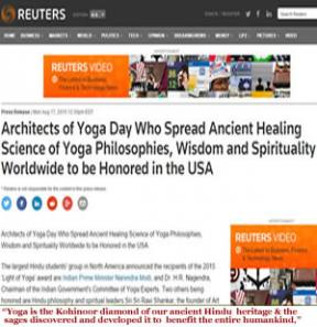 Architects of Yoga Day Who Spread Ancient..